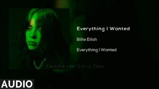 Gambar cover Billie Eilish - everything i wanted (Audio)