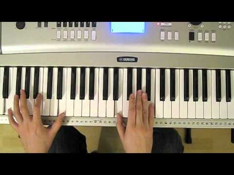 Mighty To Save Piano Tutorial Youtube