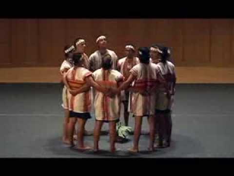 Ming-De Villagers Of Bunun, Taiwan Singing Pasibutbut In TNUA, 2010 10 16