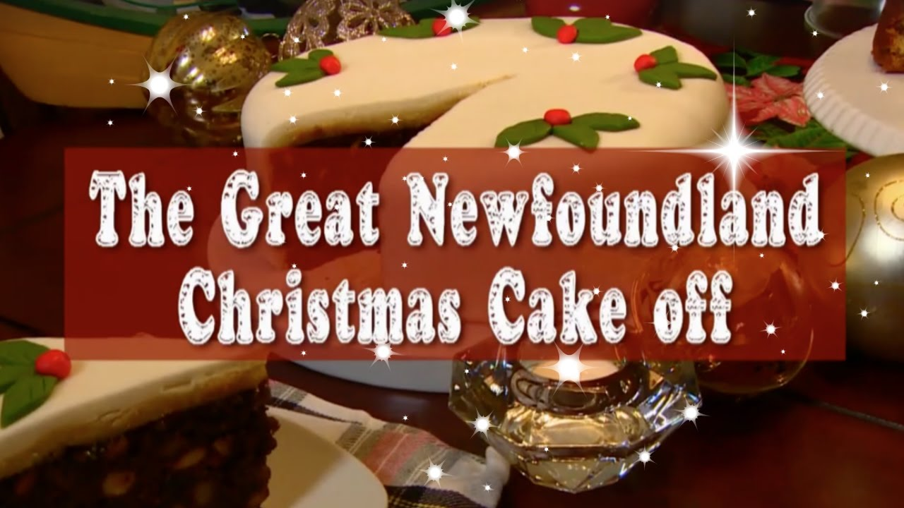 The Great Newfoundland Christmas Cake Off 2016