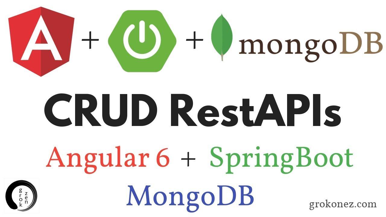 Spring Boot + Angular 6 example