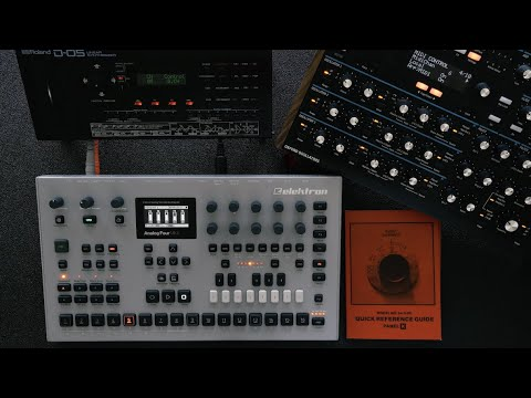 Elektron Analog Four MKII - How to Send the Sequencer's MIDI Out