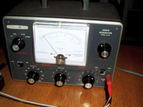 radiophonic workshop style audio generator valve oscillator vintage analog synthesizer analogue.m4v