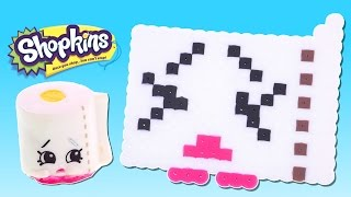 Shopkins Challenge - Leafy - How To Make DIY Shopkins Crafts out of Perler Beads with DCTC
