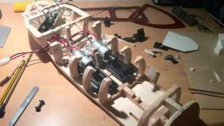 Home Made Balsa Wood Rc Boat Build