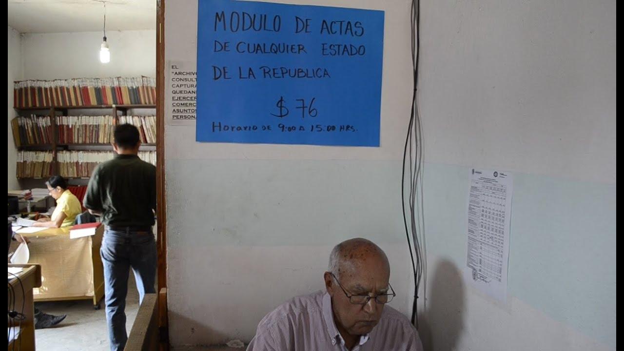 Apertura De Módulo De Actas De Nacimiento Foráneas En Taxco