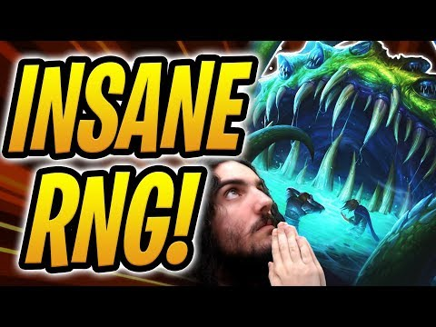 ONE IN A BILLION CHANCE FOR THIS TO HAPPEN! | Yogg-Saron Druid | Rastakhan's Rumble | Hearthstone