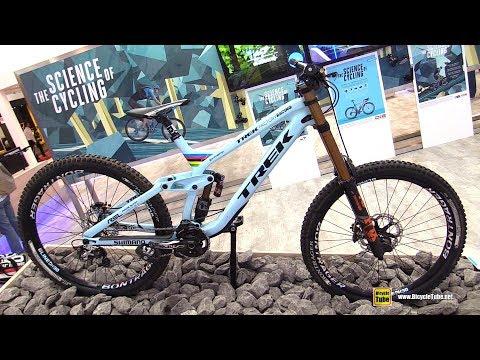 2018 Trek Session Race Shop Limited Trek Factory Racing Bike - Shimano Stand at 2017 Eurobike