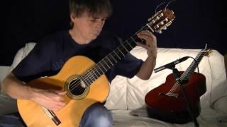 David Kellner: Phantasia in D - classical guitar by Andreas Lindae