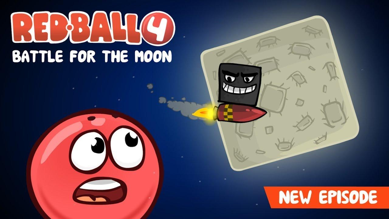 RED BALL 4! {volume 4} Battle For The Moon | FULL GAME WALKTHROUGH! | HD