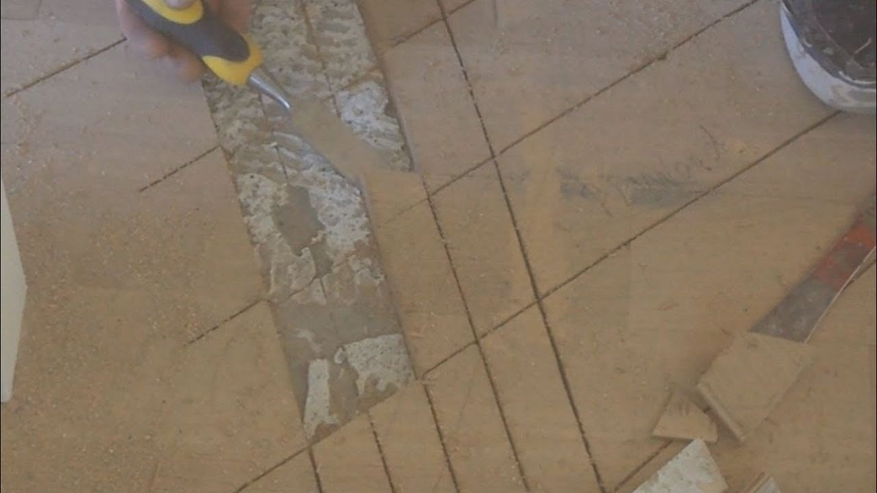 How To Level A Floor With Cork Underlay Part 1 Of 4 Repair Gluedown