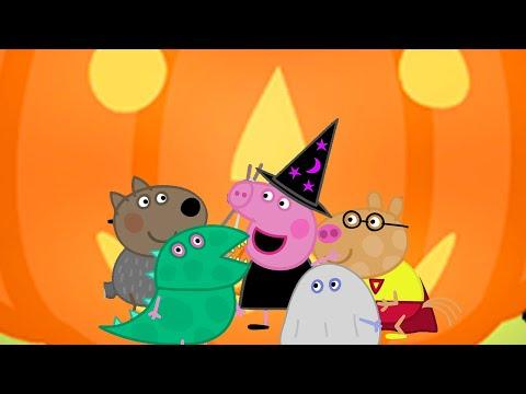 We Love Peppa Pig   Peppa's Pumpkin Party   Cartoons For Kids