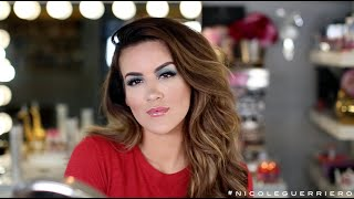 FULL FACE USING ONLY KIDS MAKEUP Challenge | Nicole Guerriero