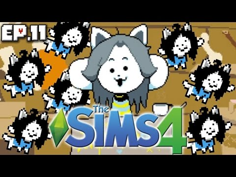 Temmie Toddler Challenge - The Sims 4: Undertale Theme - Ep. 11