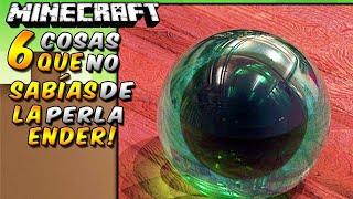 Minecraft: 6 cosas que no sabías de la Perla de Ender - Rabahrex