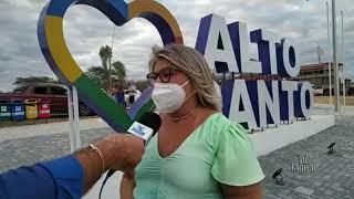 Alto Santo prefeita Iris Gadelha ressalta a importância do portal para o resgate do sentimento de pe