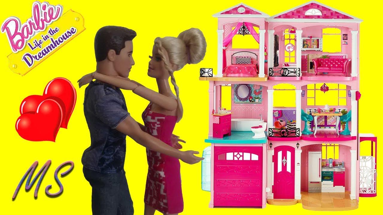 Мультик с куклами ROOM TOUR Новый Дом Мечты Барби и Кена ...