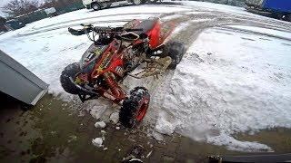 ATV Snow Drift | Honda TRX450R<