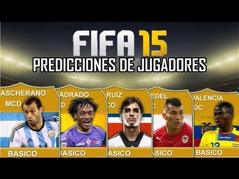 FIFA 15 Predicciones de Jugadores - Mascherano, Cuadrado, Medel, Ruiz, Valencia