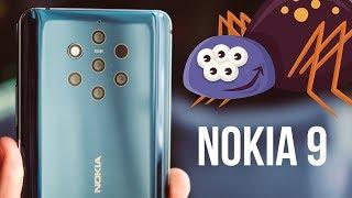 Nokia 9 - 5 CAMERE fără sens  (review Română)