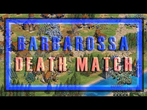 Barbarossa Death Match - The Holy Roman Emperor - Custom AoE2 Scenario