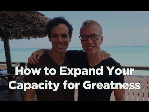how to expand your capacity for greatness with adam roa game