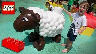 LEGO GIGANTE NA LEGOLAND DE ORLANDO!! Familia Brancoala nos Estados Unidos