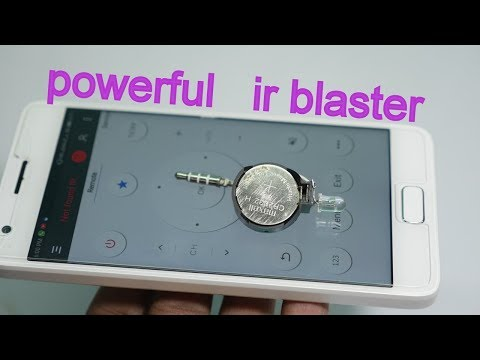 how to make powerful ir blaster
