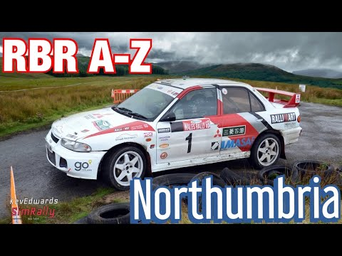 RBR A-Z @ Northumbria, Fantastic Stage In An Old Classic #Simrally #Simracing #RIchardButnsRally