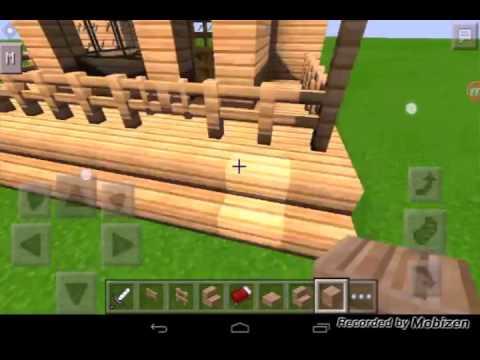 Casa moderna y b sica para minecraft survival youtube for Casa moderna 9 mirote y blancana