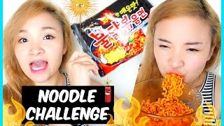 Thử Thách Ăn Mì Cay Nhất Hàn Quốc | Super Spicy Noodle Challenge♡BeeSweetiee