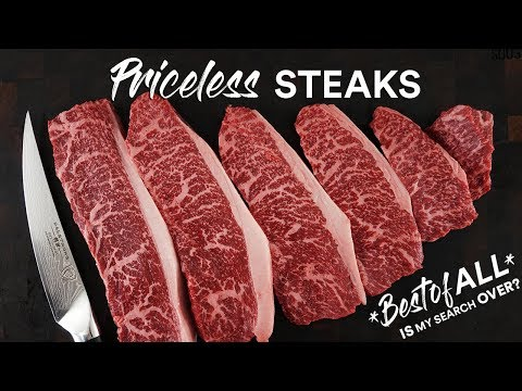 Steaks BETTER than WAGYU A5? Is it possible!?| Guga Foods