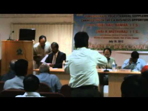 Interactive Session on Foreign Trade Policy 2012 Part 1.MPG