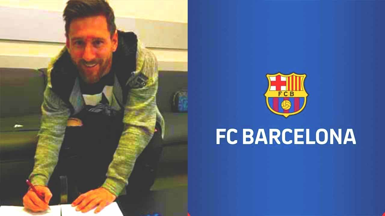 BOOM! MESSI SIGN A NEW 2-YEAR CONTRACT WITH BARCELONA! This is WHAT HAPPENED in world football!