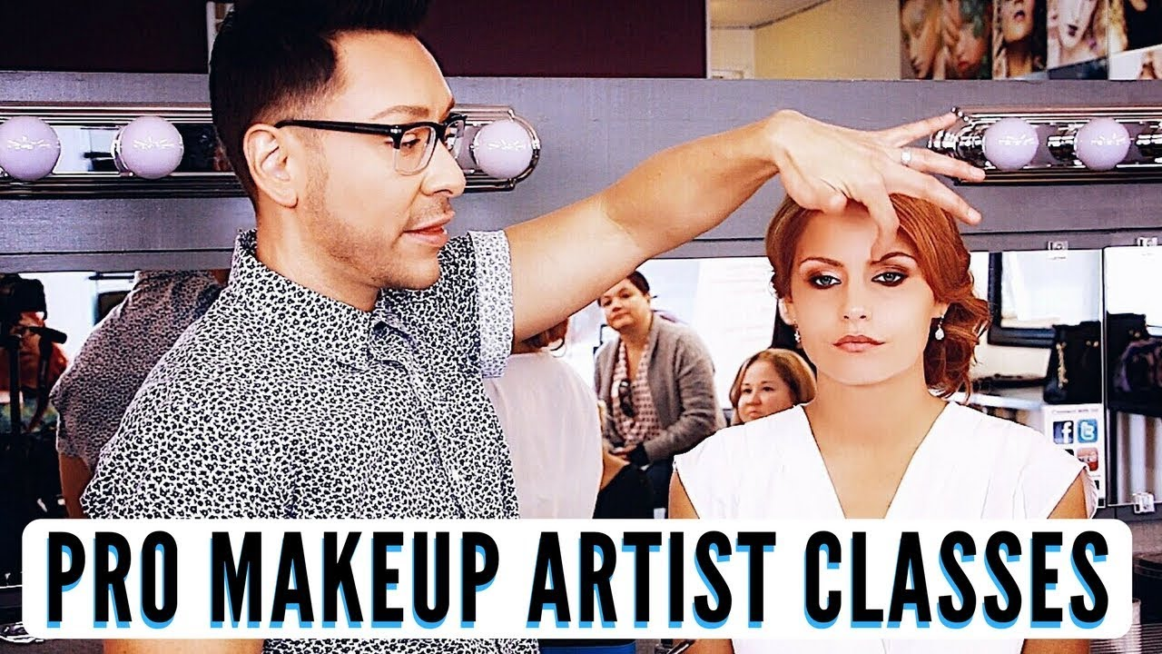 PRO MAKEUP MAKEUP ARTIST PRIVATE CLASSES WITH MATHIAS4MAKEUP