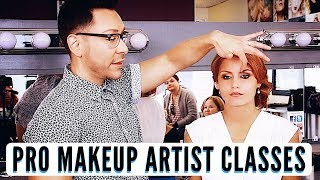 BEST PRO MAKEUP TIPS FOR MAKEUP ARTISTS PRIVATE CLASSES IN CHICAGO WITH MATHIAS ALAN
