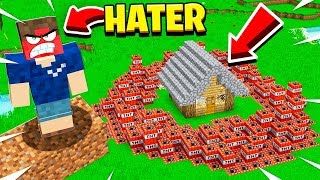 I Trolled An ANGRY HATER And HE BLEW UP My Home!