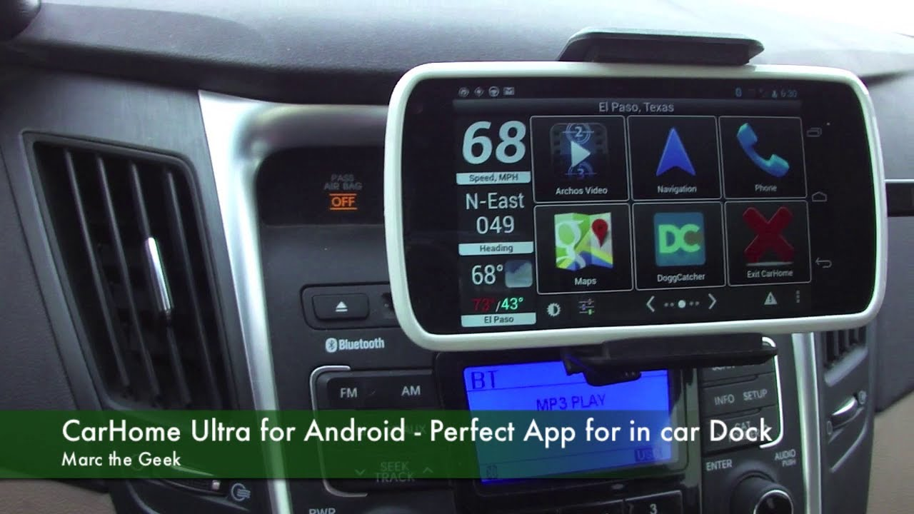 Carhome Ultra For Android Perfect App For In Car Dock
