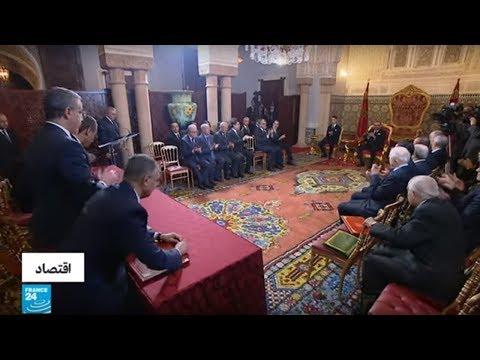توقيع اتفاقية البرنامج الوطني لتأمين مياه الشرب والري بحضور الملك المغربي  - 14:00-2020 / 1 / 15