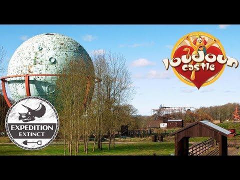 The Abandoned History of Loudoun Castle Theme Park - Scotland | Expedition Extinct