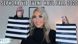 HUGE SEPHORA HAUL! *VIB ROUGE EVENT FALL 2020* (Holiday Savings Event)