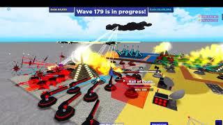 (Cube Defense roblox) WAVE 200!!!!!!!