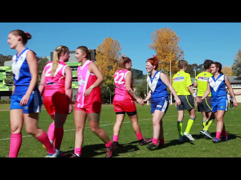 2017 Pink Footy Day in Canberra