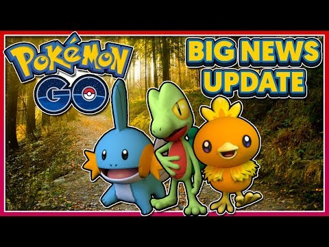 POKÉMON GO - BIG NEWS UPDATE: GENERATION 3 COMING SOON + NEW SUPER INCUBATOR!