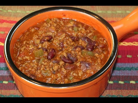 Chili Recipe - How to Make Homemade Chili