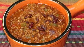 all natural chili
