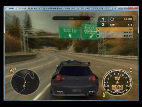 need for speed most wanted black edition on pcsx2 0 9 6. Black Bedroom Furniture Sets. Home Design Ideas