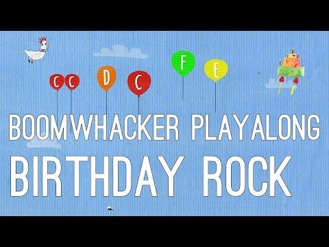 Happy Birthday Rock - Boomwhackers