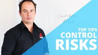 Control Risks - HOW TO CONTROL RISKS USING THE HIERARCHY OF CONTROL