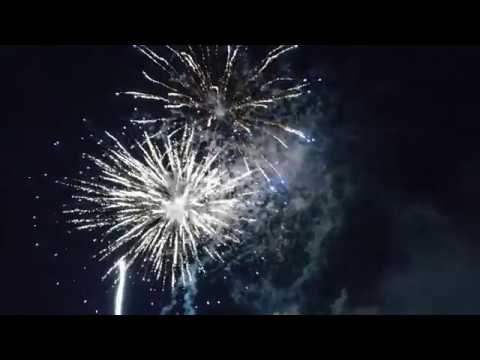 BEST 4K UHD FOOTAGE of FIREWORKS in ROSELLE PARK NEW JERSEY on JULY 1st 2017